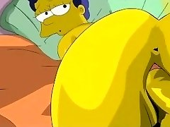 Simpsons Porn - Homer nails Marge