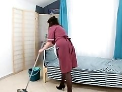 boy fuck unshaved mature maid