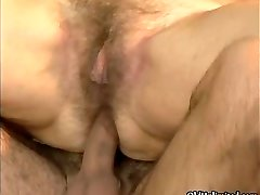 Mature housewife having an climax