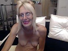 Horny grandma masturbate