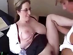 Today is this mummy�s last day as teacher, so she decides to shag her schoolgirl