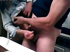 granny hand job