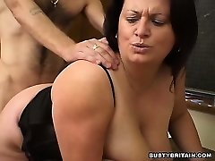 Plumper Angel Banged In Classroom