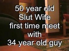 50 Year Old Milf Fucks Hot Stud ( Ravaging Hot amateur VID )