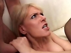 German Mature gangfucked