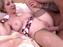 Hot milf and her junior lover 869