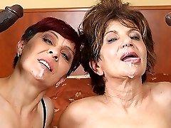 Grannies Hardcore Fucked Interracial Porn with Old Women loving Dark-hued Cocks