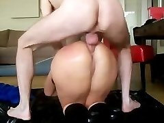 Thick Ass Mature Gets Anal Invasion
