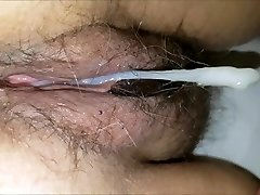 Mature 57 YO Wife Creampie
