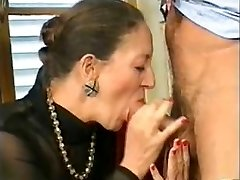 French-German Grandmother Anally Fisted