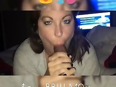 Mature BBW jizm swallow