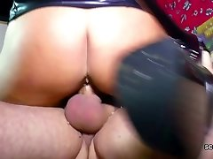 German Mom and Dad Entice Young Dame to Fuck for Money