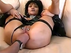 Astounding homemade Piercing, Fisting porn clip