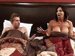 Tara Holiday & Danny D in Overnight With Step-mom: Part One - Brazzers