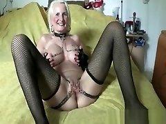 Iam Pierced grandma pith honeypot piercing and chain Super kinky