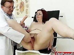 Woolly gramma enema during a medical exam