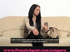FemaleAgent. Gymnast flexible pummel