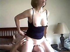 'Kinky Blonde Mature Fuck on our date'