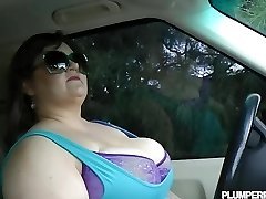 Gigantic Knocker BBW Bille Austin is Pulled Over and Fucked By Cop