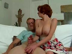 Hot Milf Precisely Reads His Answer To Her Act