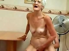 Insatiable Grannie Just Loves Cock !