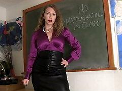 Mistress Schoolteacher And Her Student