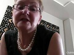Granny Deep Stinkface Ass-smothering Session!