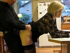 I fuck my mature STEPMOM in the bootie every morning