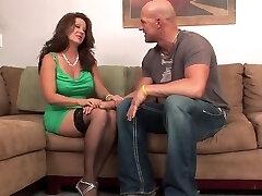 Mature in stockings   heels plumbs bal guy