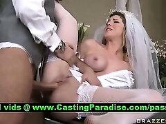 Kayla Paige stunning bride screwed realy hard