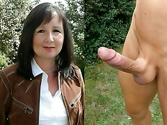 Mom fucked harsh in the ass by boy lover