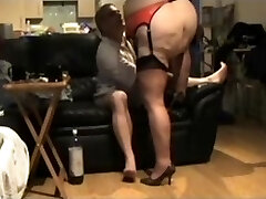 PlumperTy In Sexy Undergarments Fucked From Behind  mature mature porn granny senior cumshots cumshot