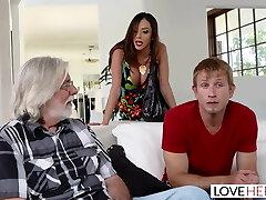 LoveHerFeet - Step-mom Wants My Spunk On Her Feet