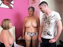 TAC Amateurs presents Grannie Savana and MILF SpeedyBee.
