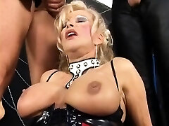 Amateur girlfriend anal group fuck-a-thon with facials