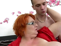 Granny SSBBW fucked by young fellow