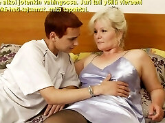 Slideshow with Finnish Captions: Mom Lena Two