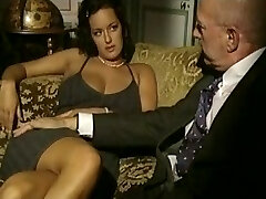 Vintage porn video with threesome hook-up