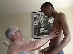 Giant Boobied Granny Tries Dark Chocolate