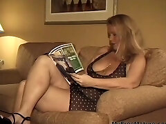 Xxl Busty Blonde Granny Takes Two Dicks mature mature porn granny old cumshots cumshot
