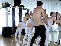 Mature fucky-fucky party Ballerinas