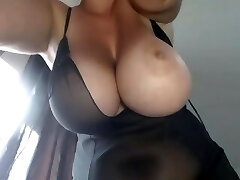 Mommy's Big Boobs - Smoking Plus-size