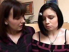 Step-Mum teaches daughter 01