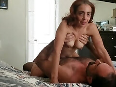 Pretty soccer mom gets fucked and has noisy orgasm gets impregnated