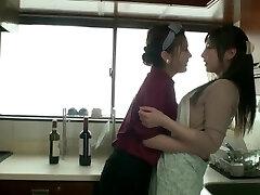 Yui Hatano & Aki Sasaki lesbian have fun (HD-1080p)