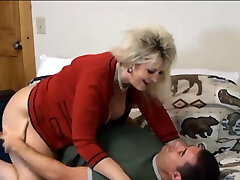 Penetrating Mother In Law Candee In Pantyhose