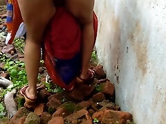Devar Outdoor Fuckin' Indian Bhabhi In Abandoned House Ricky Public Sex