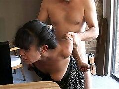 I Revved My Tiny Mexican Granny Maid Into an Anal Slave
