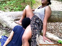 Park pussy eating