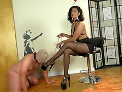 Mistress Delilah in stocking (private soon)